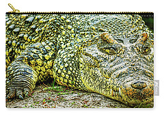 Cuban Croc Carry-all Pouch