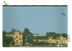 Cuban Estate Print Carry-all Pouch