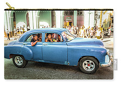 Cuban Taxi Carry-all Pouch