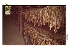 Carry-all Pouch featuring the photograph Cuban Tobacco Shed by Joan Carroll