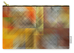 Carry-all Pouch featuring the photograph Cubic Space by Mark Greenberg