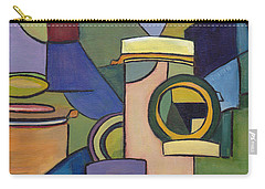 Cubist Pill Bottle Carry-all Pouch