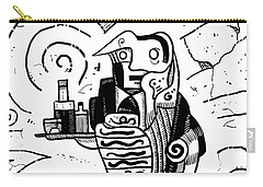 Cubist Waiter Carry-all Pouch