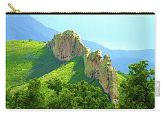 Carry-all Pouch featuring the photograph Cuchara Ridge by Marie Leslie