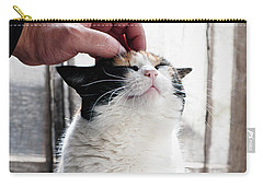 Carry-all Pouch featuring the photograph Cuddles by Laura Melis