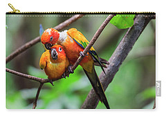 Cuddling Parrots Carry-all Pouch