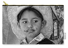 Carry-all Pouch featuring the photograph Cuenca Kids 883 by Al Bourassa