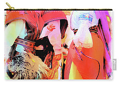Carry-all Pouch featuring the photograph Cuenca Kids 884 by Al Bourassa