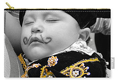Carry-all Pouch featuring the photograph Cuenca Kids 891 by Al Bourassa