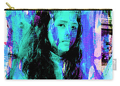 Carry-all Pouch featuring the photograph Cuenca Kids 892 by Al Bourassa