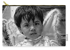 Carry-all Pouch featuring the photograph Cuenca Kids 893 by Al Bourassa