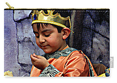 Carry-all Pouch featuring the photograph Cuenca Kids 903 by Al Bourassa