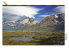 Cuernos Del Pain And Almirante Nieto In Patagonia Carry-all Pouch