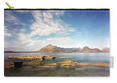 Cuillin Mountain Range Carry-all Pouch by Grant Glendinning