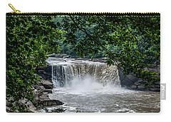 Carry-all Pouch featuring the photograph Cumberland Falls by Joann Copeland-Paul