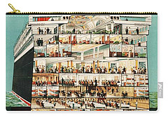 Cunard Liner Poster Carry-all Pouch