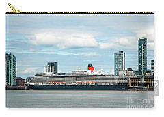 Cunard's Queen Elizabeth At Liverpool Carry-all Pouch