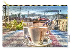 Cup Of Coffee On A Sunny Day Carry-all Pouch