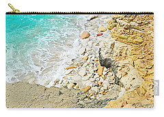 The Sea Below Carry-all Pouch by Expressionistart studio Priscilla Batzell