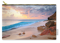 Cupecoy Beach Sunset Saint Maarten Carry-all Pouch