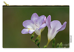 Cupertino Lavender Freesias Carry-all Pouch
