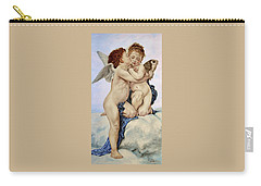 Cupid And Psyche Reproduction William Adolphe Bouguereau  Carry-all Pouch