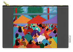 Curacao Market Carry-all Pouch