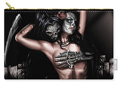 Cure My Tragedy Carry-all Pouch by Pete Tapang
