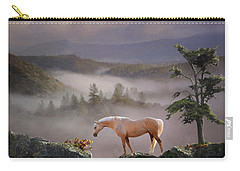 Carry-all Pouch featuring the photograph Curiosity by Melinda Hughes-Berland
