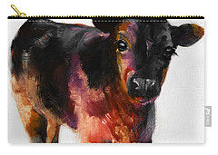 Buster The Calf Painting Carry-all Pouch