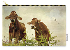 Curious Cows Carry-all Pouch