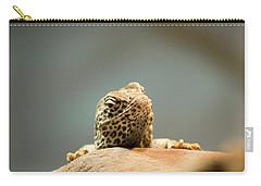 Curious Lizard Carry-all Pouch