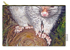 Curious Possum  Carry-all Pouch