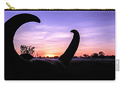 Curious Sunrise Carry-all Pouch