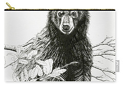 Curious Young Bear Carry-all Pouch