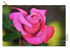 Carry-all Pouch featuring the photograph Curled Beauty by Debby Pueschel