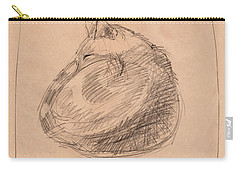 Curl Drawings Carry-All Pouches