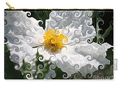 Curlicue Fantasy Bloom Carry-all Pouch