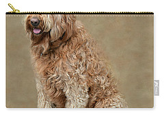 Curly Labradoodle Carry-all Pouch