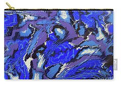 Currents And Tides  Carry-all Pouch by Cathy Beharriell