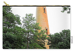 Currituck Beach Lighthouse Carry-all Pouch by Shelia Kempf