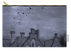 Carry-all Pouch featuring the photograph Curse Of Manor House by Juli Scalzi
