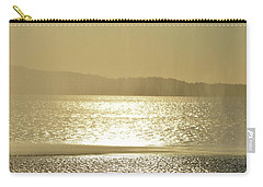 Carry-all Pouch featuring the photograph Curtain Of Water  by Lyle Crump