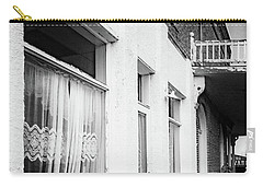 Carry-all Pouch featuring the photograph Curtains by Cat Connor