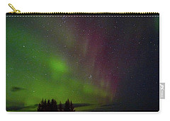 Curtains Of The Aurora Carry-all Pouch
