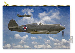 Curtis P-40 Warhawks Carry-all Pouch by Kai Saarto