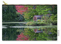 Curtis Pond Autumn  Carry-all Pouch by Alan L Graham