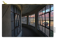 Curved Hallway II Carry-all Pouch by Tom Singleton