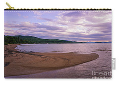 Curves In The Bay Carry-all Pouch by Rachel Cohen