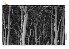 Carry-all Pouch featuring the photograph Curves Of A Forest by James BO Insogna